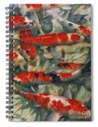 Koi Karp Spiral Notebook