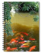 Koi Party Spiral Notebook