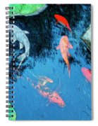 Koi Pond 1 Spiral Notebook