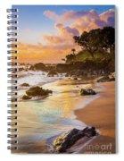 Koki Beach Sunrise Spiral Notebook