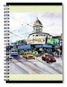 Kolkata Street Spiral Notebook