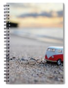 Kombi Beach Spiral Notebook