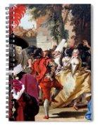 Komondor Art Canvas Print - The Carnival Dance Spiral Notebook