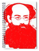 Komrade K Spiral Notebook