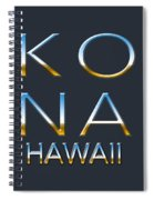 Kona Hawaii Spiral Notebook