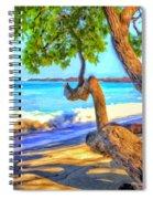 Kona Morning Glow Spiral Notebook