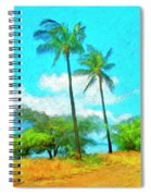 Kona Palms Spiral Notebook