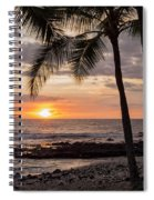 Kona Sunset Spiral Notebook