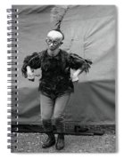 Koo Koo The Bird Girl Front Spiral Notebook