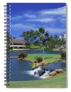 Koolinas 18th Hole Spiral Notebook