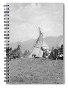 Kootenai First Nations Camp, C.1920-30s Spiral Notebook