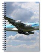 Korean Air Airbus A380 Spiral Notebook