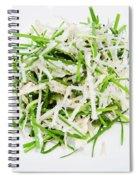 Korean Traditional Fresh Vegetable Salad Spiral Notebook