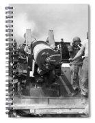 Korean War Artillerymen Spiral Notebook