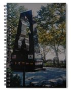 Korean War Memorial Spiral Notebook