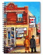 Kosher Bakery On Hutchison Spiral Notebook