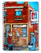 Kosher Bakery On Hutchison Street Spiral Notebook