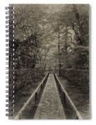 Koto-in Zen Temple Forest Path - Kyoto Japan Spiral Notebook