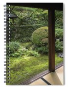 Koto-in Zen Temple Side Garden - Kyoto Japan Spiral Notebook