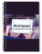 Krakensupportnumber Spiral Notebook