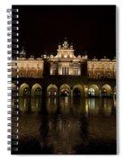 Krakow Cloth Hall Spiral Notebook