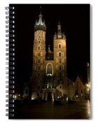 Krakow Saint Marys Basilica Spiral Notebook