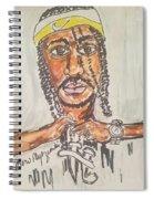 Krayzie Bone Spiral Notebook