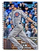 Kris Bryant Chicago Cubs Spiral Notebook