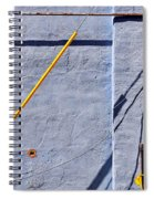 Krishna Blue Spiral Notebook