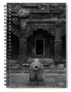 Krishna Devi Temple Spiral Notebook