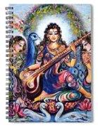 krishna - Kirtan  Spiral Notebook