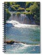 Krka National Park Waterfalls 5 Spiral Notebook