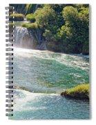 Krka National Park Waterfalls 6 Spiral Notebook