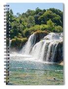 Krka National Park Waterfalls 9 Spiral Notebook