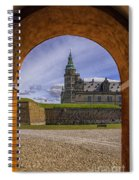 Kronborg Castle Through The Archway Spiral Notebook
