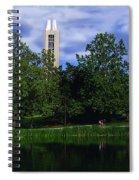 Ku Carrilon Tower Spiral Notebook