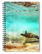 Kua Bay Honu Spiral Notebook