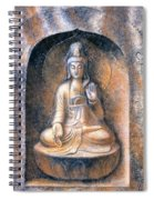Kuan Yin Meditating Spiral Notebook