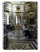 Kunsthistorische Museum Cafe Spiral Notebook