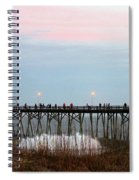 Kure Beach Pier Spiral Notebook