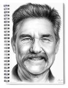 Kurt Russell Spiral Notebook