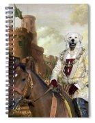 Kuvasz Art Canvas Print - The Enchanted Forest Spiral Notebook