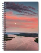 Kyles Of Bute In Twilight Spiral Notebook
