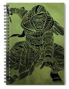 Kylo Ren - Star Wars Art  Spiral Notebook