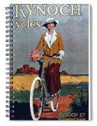 Kynoch Cycles - Bicycle - Vintage Advertising Poster Spiral Notebook