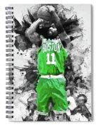Kyrie Irving, Boston Celtics - 05 Spiral Notebook
