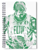 Kyrie Irving Boston Celtics Pixel Art 5 Spiral Notebook