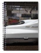 Kyushu Bullet Train Locomotive Spiral Notebook