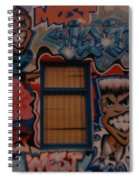 L A Urban Art Spiral Notebook