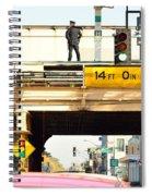 L Stop Cop Spiral Notebook